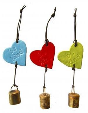 Ben's Bells - Heart Bell/Ornament