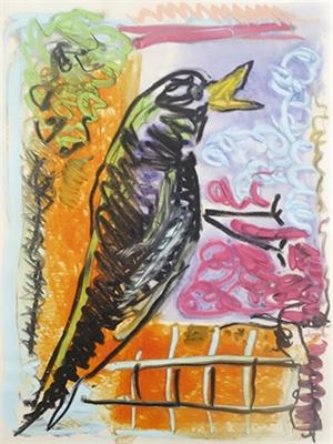 Purple Crow I, 2019