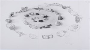 Mt. Desert Drawing Pre-study