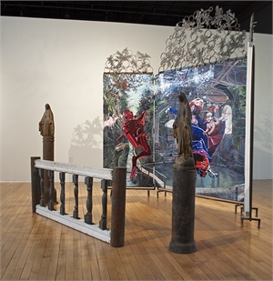 The Other (Installation with Artist Rian Kerrane) by Melissa Furness