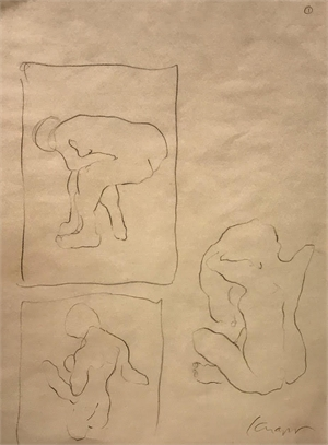 Tracing Paper Drawing #1