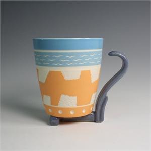 Mug (Orange/Blue)