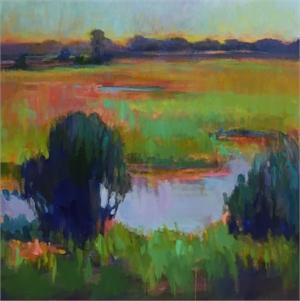 Celery Field 2 by Linda Richichi