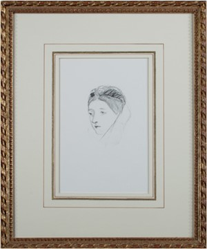 Portrait (Head) of a Woman, 1870