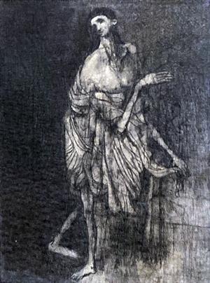 Untitled Figure, 1949