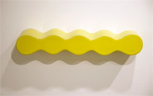 Infinity Shelf in Lemon, 2019