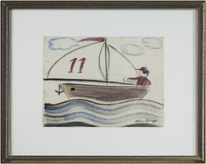 Boy Sailing (Sail #11), c.1950