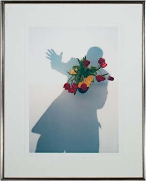 """Self Portrait Shadow Series """"Take My Hand, I'm A Stranger in Paradise"""", 2003"""