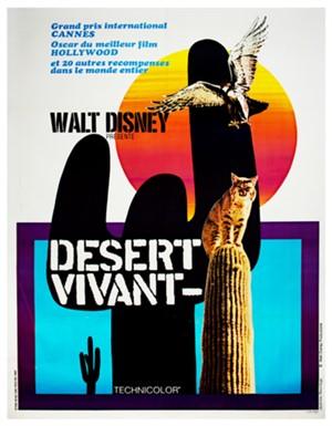 Walt Disney Desert Vivant, 1954