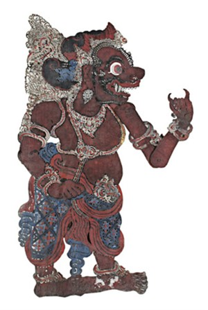 Shadow Puppet, male, 19th C.