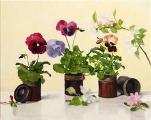 Pansies by Judith Pond Kudlow
