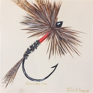 Chocolate Dun Dry Fly