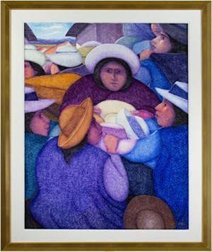 Vendedora de Sombreros, 2001