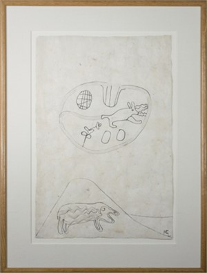 Sheep, Rabbit in Desert, 1991