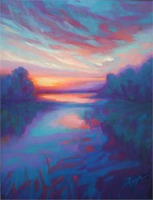 Sapphire Land & Luminous Sky