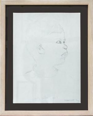 Self-Portrait Age 3, 1966