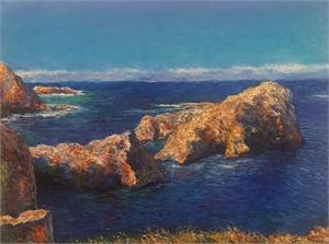 Seascape Point Lobos, 2019