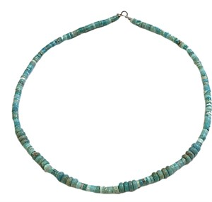 "Necklace - 16"" Turquoise Beads"