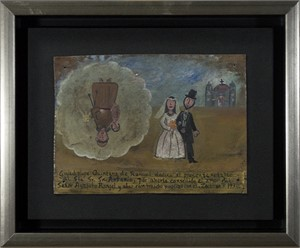 Retablo Exvotos (Replica Bride & Groom), 1992