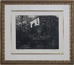 Manege rue Caulaincourt ou Le Petit Manege Aux Chevaux De Bois, 1904