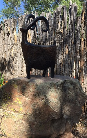 THE GUARDIAN SHEEP  - Bronze Sculpture $11,500