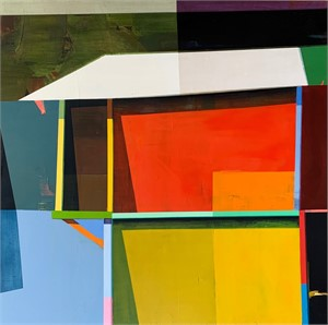A Colorful House #8, 2019