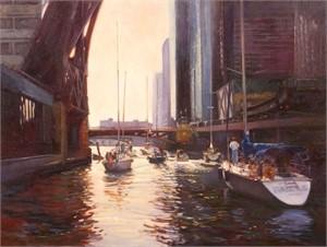 River Trip by Kathleen Newman PSA IAPS-MC