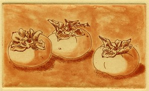 Three Persimmons (34/50), 2018