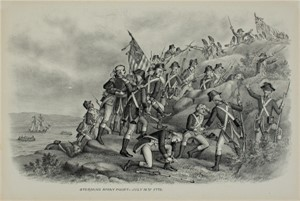 Storming Stony Point, July 16, 1779, c1890