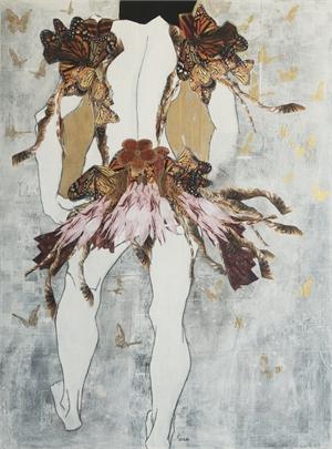 Figure with Butterflies, 2019