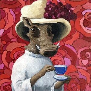 Lady Constance Takes Tea, 2019