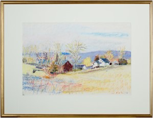 Early Spring in Vermont (Kahn #5), 1978
