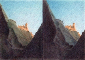 Canyons (Stereoscopic Image), 2019
