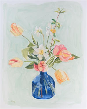 Bouquet with Tulips, 2019
