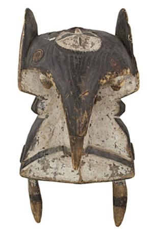 Male Initiation Mask Wawa-Ibo Tribe, Nigeria, c.1910