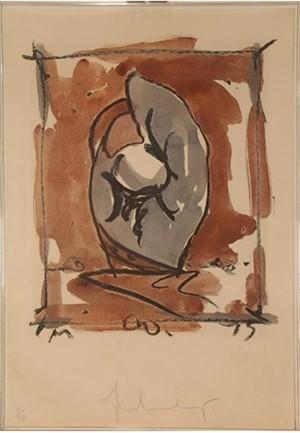Study for Standing Mitt (40/50), 1976