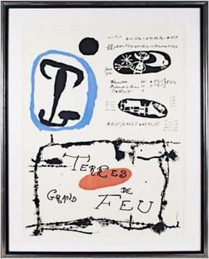 Terre de Grande Feu by Joan Miro