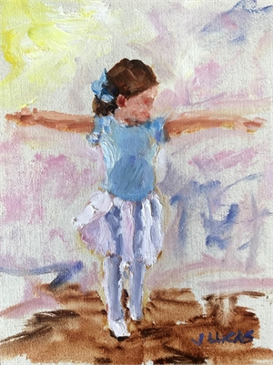 Future Prima Ballerina by Janet Lucas Beck