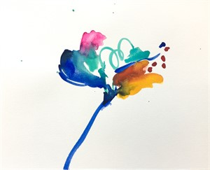 Floral Watercolor No. 7