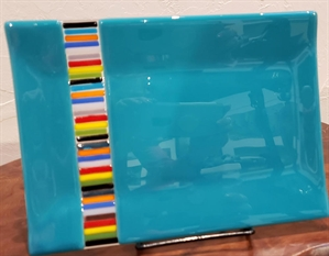 Tray Fused Glass, 2020