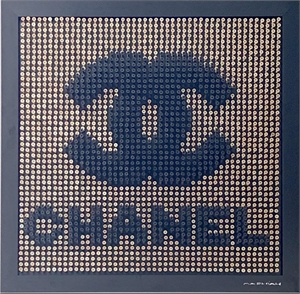 Chanel - Gold Background
