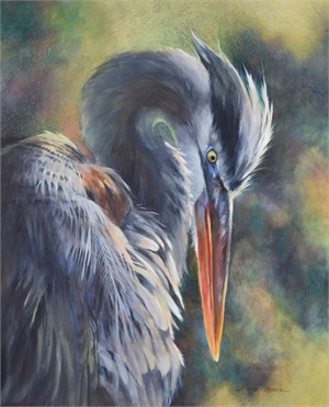 Great Blue Herron , 2020