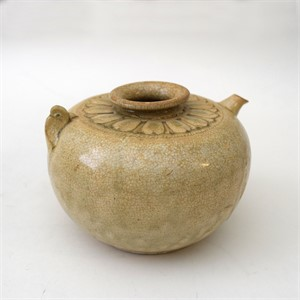 SMALL WHITE-GLAZED EWER, Annamese, 13th century