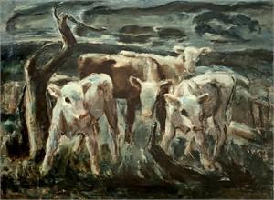 Curious Calves, 1949