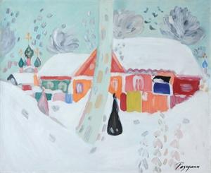 Paysage d'hiver , 2004