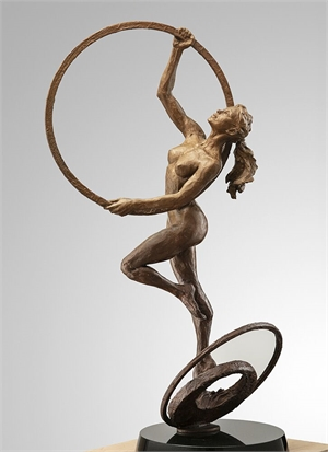 Cycles (Maquette), The Suspended by Paige Bradley