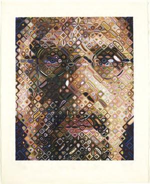 Self-Portrait Woodcut (1/70), 2009