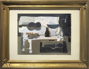 Still Life With Piano, Guitar and Violin, 2018