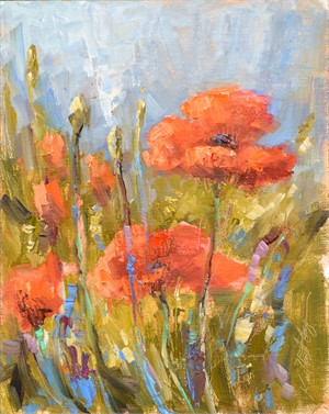 Poppies on Saturday Morning