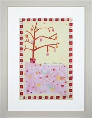 Five Little Birdies Hidden in the Flowers KMH 037, 2007